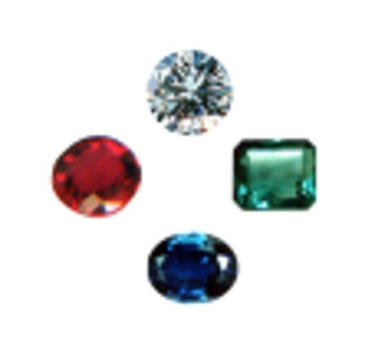 Molto Le 4 pietre preziose - Bisi Gemme & Gioielli RC98