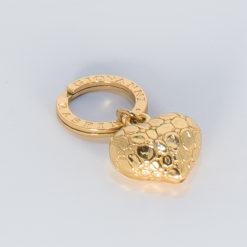 Portachiavi | anella brisè e charm cuore - G. Raspini